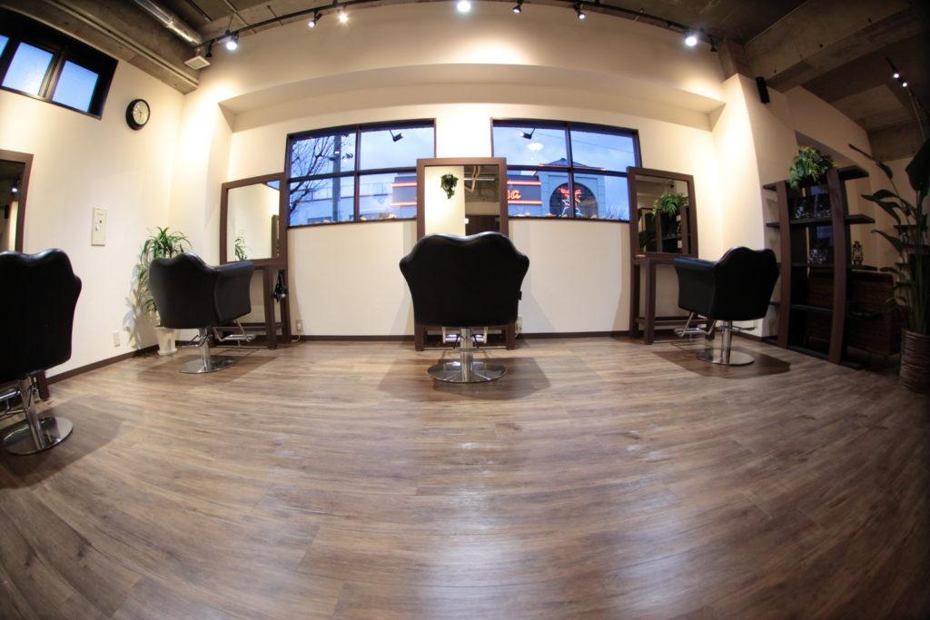 【店舗撮影】福岡市城南区の美容室・hair resort Kaito 様