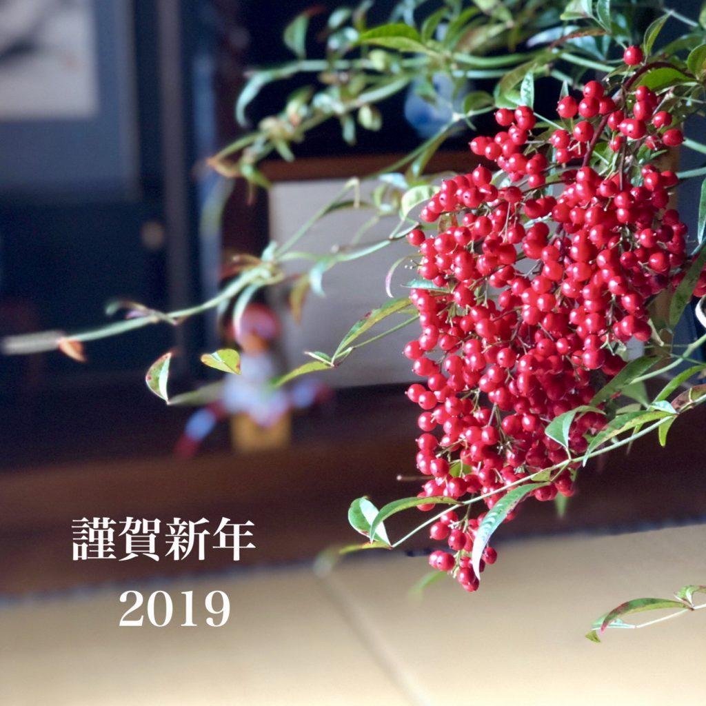 新年のご挨拶〜2019〜