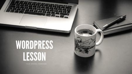 オリジナルHPを作ろう!WordPress(ワードプレス)講座