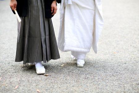 【ウェディング撮影レポ】緑豊かな宮崎神宮で神前式
